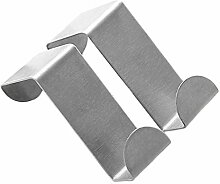 Edelstahl-Türhaken, die Küchenschrank-Aufhänger