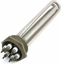 Edelstahl-Wasser-Heizung elektrische Heizelement AC380V 6000W