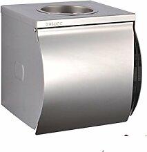 Edelstahl Wasserdicht Toilettenpapier Kasten,Wc-papierrolle Tissue Box,Toilettenpapier-regal