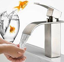 Edelstahl Wasserhahn Waschbecken Einhebelmischer