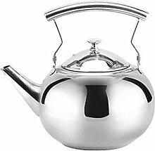 Edelstahl Wasserkocher, Edelstahl Teekanne