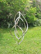 Edelstahl Windspiel Windspinner Tall, 60 cm