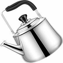 Edelstahlherd-Pfeife-Pfeifkessel-Teekanne für