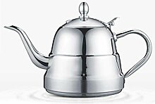 Edelstahlkessel, Teekanne mit Griff Heat Resistant