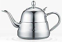 Edelstahlkessel,Teekanne mit Griff