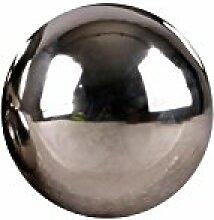 Edelstahlkugel poliert 5-28cm Gartenkugel Schwimmkugel Deko Kugel Edelstahl, Größen:Ø 5cm
