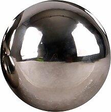 Edelstahlkugel poliert 5-28cm Gartenkugel Schwimmkugel Deko Kugel Edelstahl, Größen:Ø 28cm