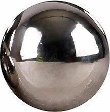 Edelstahlkugel poliert 5-28cm Gartenkugel Schwimmkugel Deko Kugel Edelstahl, Größen:Ø 20cm