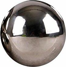 Edelstahlkugel poliert 5-28cm Gartenkugel Schwimmkugel Deko Kugel Edelstahl, Größen:Ø 9cm