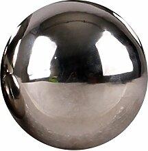 Edelstahlkugel poliert 5-28cm Gartenkugel Schwimmkugel Deko Kugel Edelstahl, Größen:Ø 15cm