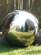 Edelstahlkugel Teichkugel Poolkugel glanz Ø 52 cm