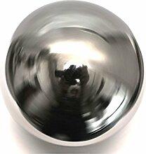 Edelstahlkugeln Edelstahl Deko Teich Kugel hohl 100mm 10cm silber glänzend