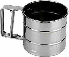 Edelstahlsieb Cup Pulver Mehl Siebgewebe
