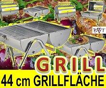 Edelstahltonne XXL Grill Feuerschale Grill Schale
