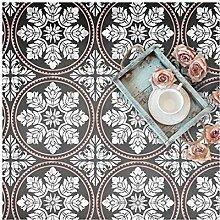 EDESSA FLIESE Wand Möbel Fußboden Schablone für