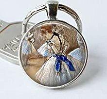 Edgard Degas Schlüsselanhänger Ballett Geschenk