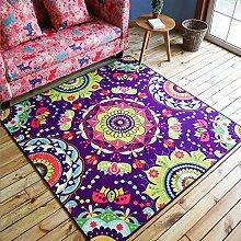 Edge to Teppiche und Decken Pastoral gemalte