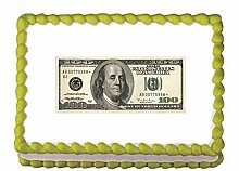Edible Money - Money Cake Topper Cupcake Topper by