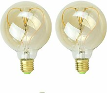 Edison 4W LED Dimmbar Glühfaden Globe Schraube