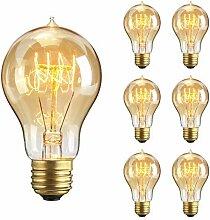 Edison Vintage Glühbirne, E27 A19 40W Retro