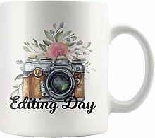 Editing Day Fotograf Geschenke 11 Unzen Keramik