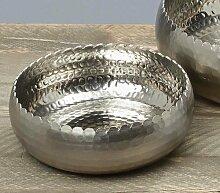 Edle Deko-Schale Kiana rund D 23 cm Aluminium