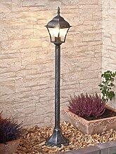 Edle LED Energiespar-Außenlampe 6 Watt in