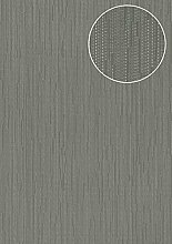 Edle Uni Tapete Atlas COL-497-2 Vliestapete glatt
