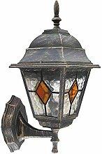 Edle Wandaußenleuchte Außenlampe Hoflampe