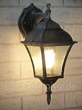 Edle Wandaußenleuchte hängend Außenleuchte Hoflampe 8396 IP43 Hoflich