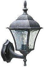 Edle Wandaußenleuchte stehend Außenleuchte Hoflampe 8397 IP43 Hoflicht Wandlampe