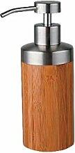 Edler Seifenspender, Pumpseifenspender-Badaccessoires aus Bambus-Ferro