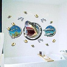EdmendYang Abnehmbare kreative Shark Fish Vinyl