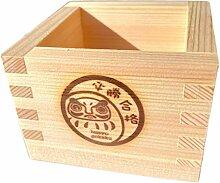 EDOYA Hinoki Holz Sake-Becher (Set von 2)
