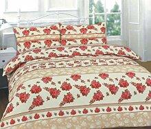 EDS Bettwäsche-Set aus Baumwollmischgewebe,