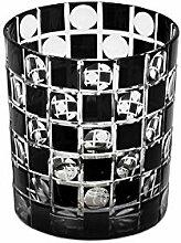 EDZARD 4er Set Kristallgläser/Teelichthalter