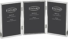 EDZARD Dreifach-Fotorahmen Genua für 3 Fotos 10 x