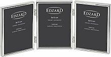EDZARD Dreifach-Fotorahmen Genua für 3 Fotos 9 x