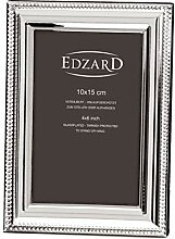 EDZARD Fotorahmen Novara für Foto 10 x 15 cm,