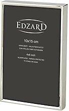 EDZARD Fotorahmen Otto für Foto 10 x 15 cm edel