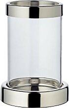 EDZARD Windlicht Sanremo, Kerzenhalter aus Glas,