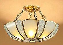 Eeayyygch All-Kupfer-Lampe im europäischen