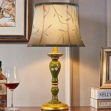 Eeayyygch Europäische einfache Schlafzimmer Lampe