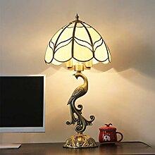 Eeayyygch Europäische Kupfer Lampe kreative Retro