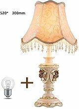 Eeayyygch Europäische Stil Schlafzimmer Lampe