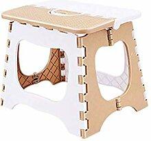 Eeayyygch Kunststoff Klappstuhl einfacher Stuhl