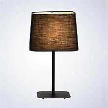 Eeayyygch Lampe Moderne Einfache Tuch Schwarzweiß