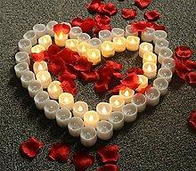 Eeayyygch LED Kerzen Teelichter, flackernde