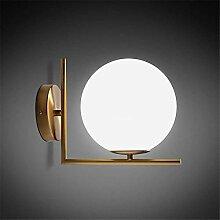 Eeayyygch Moderne minimalistische LED Wandleuchte