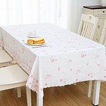 Eeayyygch Tischdecke aus PVC, Tischdecken für